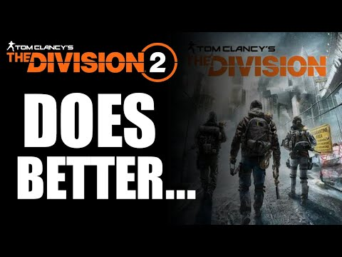 The Division 2 OPEN WORLD, RAIDS & MORE! What The Division 2 Does BETTER Than The Division!
