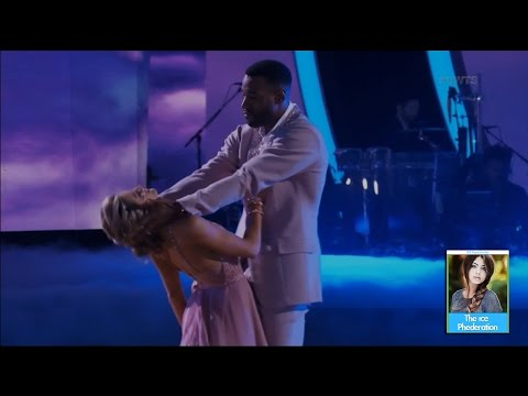 Dancing with the Stars 23 - Calvin Johnson & Lindsay Opening Performance   LIVE 11-21-16