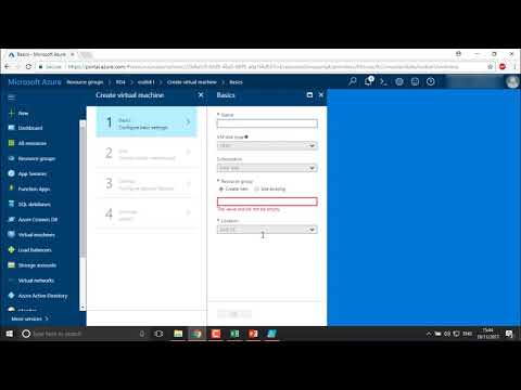 Azure - Create a VM from Snapshot Disk
