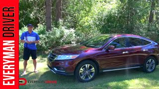 2013 Honda Crosstour 4WD EX-L DETAILED Review On Everyman Driver
