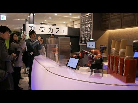 Café in Tokio: Roboter ersetzt Barista