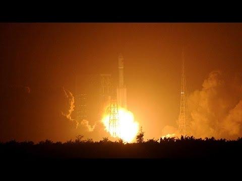 Εκτοξεύθηκε το πρώτο κινεζικό διαστημικό σκάφος ανεφοδιασμού