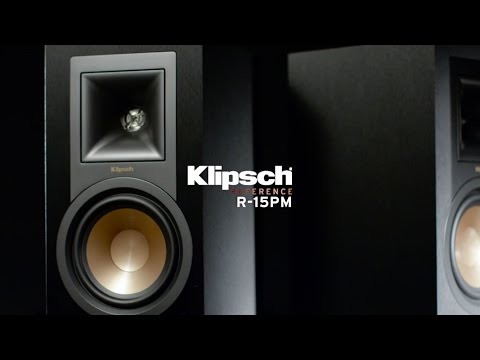 Klipsch Reference R-15PM Powered Monitors