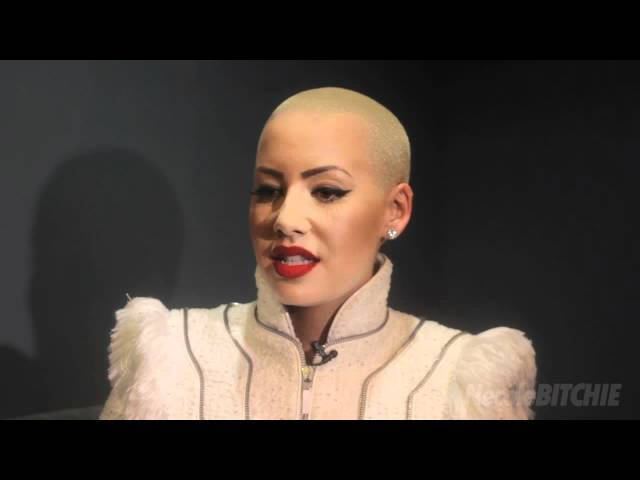 Amber Rose Talks About Her Struggles Growing Up With Necole