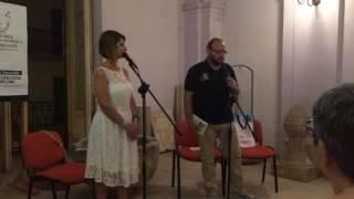 Mariella Cuoccio - Notte bianca della poesia - Giugno 2016