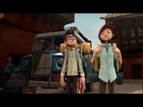 شاهد فيلم الكرتون Mission Kathmandu: The Adventures of Nelly & Simon
