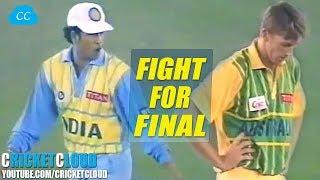 EPIC SEMI FINAL IND VS AUS TITAN CUP 1996 @MOHALI !!