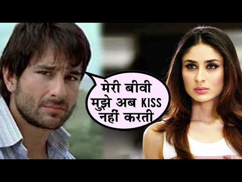 Why Kareena Kapoor Doesn't Kiss Saif Ali Khan Anym