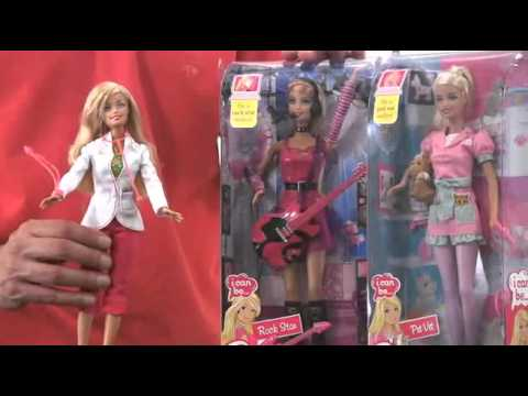 Barbie I Can Be. from Mattel