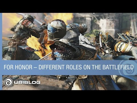 For Honor – How New Heroes Play Different Roles on the Battlefield
