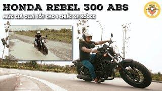 10. Review Rebel 300 ABS - Cảm giác khác lạ từ chiếc PKL Honda huy�n thoại | MinC Motovlog