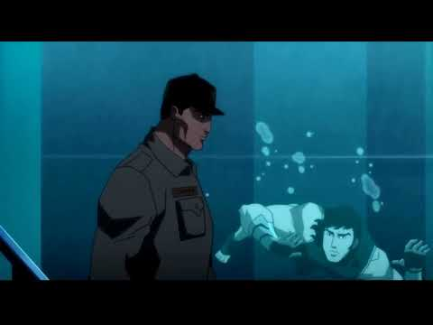 Justice League Throne of Atlantis end credits scene