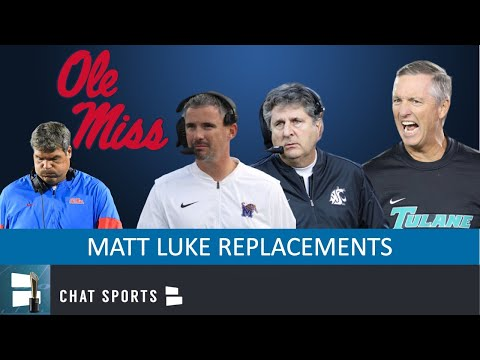 Top 10 Candidates To Replace Matt Luke as Next Ole Miss Rebels Head Coach In 2020