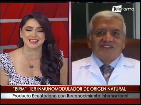 Birm 1er inmunomodulador de origen natural producto ecuatoriano con reconocimiento internacional