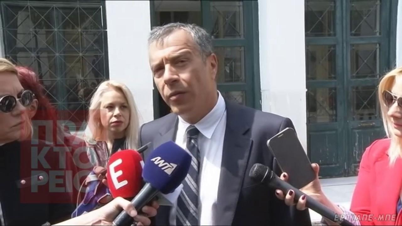 Στοιχεία για τον Γ. Παπαντωνίου παρέδωσε στην ανακρίτρια κατά της Διαφθοράς ο Στ. Θεοδωράκης