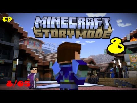"Minecraft Story Mode Episode 8 ""A Journey's End?"" Part 5 ""Friends"""