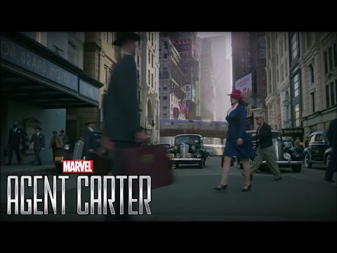 Visual Effects From Season One of Agent Carter