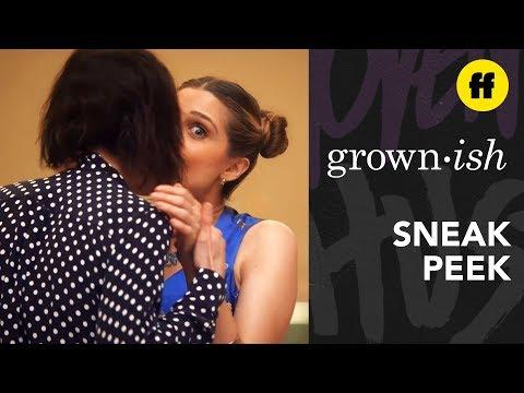grown-ish Season 2, Episode 14 | Sneak Peek: Zoey Catches Nomi With Professor Hewson | Freeform