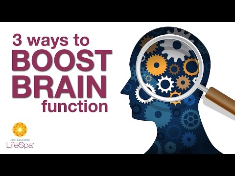 3 Ways to Boost Brain Function