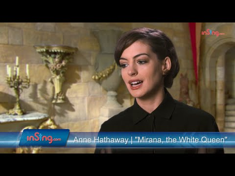 Alice Through The Looking Glass | Anne Hathaway talks about the White Queen