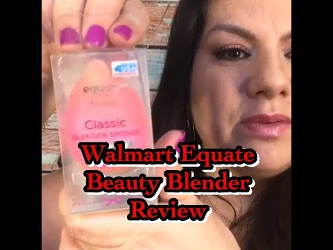 SUCKY WALMART EQUATE BEAUTY BLENDER REVIEW