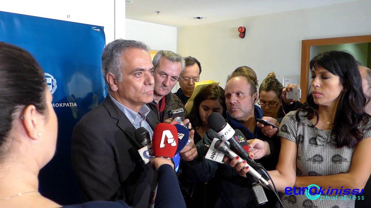 Π. Σκουρλέτης: Διάλογος εφόσον πάρει πίσω τις αποφάσεις για αναστολή η Eldorado
