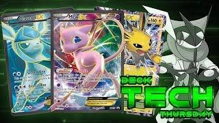 Pokémon Cards - Mew EX/Jolteon EX/Glaceon EX Ninjabox Deck Profile! | Deck Tech Thursday #27! by The Pokémon Evolutionaries