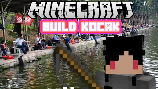 Video Minecraft Indonesia - Build Kocak (17) - Tempat Pemancingan! MP3, 3GP, MP4, WEBM, AVI, FLV Desember 2017