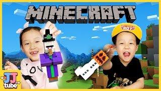 마인크래프트 피규어 랜덤 열쇠고리 행거 장난감 놀이 MINECRAFT Hangers Toy & Play [제이제이튜브 JJtube
