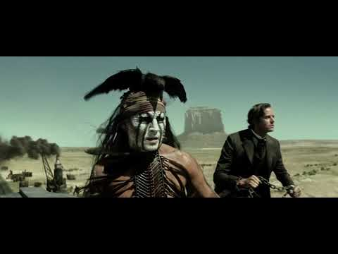 Most creative movie scenes from The Lone Ranger (2013)