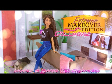 DIY - How to Make: Extreme Make Over Dollhouse Edition | 1962 Barbie Dreamhouse