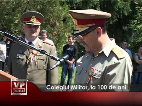 Colegiul Militar, la 100 de ani