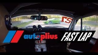 """Avārija no """"Autoplius Fast Lap"""" 3. posma Rīgā"""