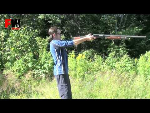 Por qué no disparar una escopeta como pistola