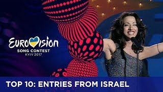 Israel won the Eurovision Song Contest three times, in 1998, 1979 and 1978. Have a look at the top 10 from Israel and tell us which one is your favourite!If you want to know more about the Eurovision Song Contest, visit https://eurovision.tv