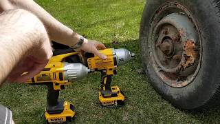 Dewalt DCF899 MONSTER VS rusty trailer