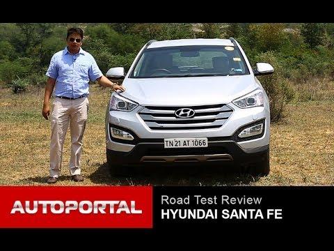 "Hyundai Santa Fe Review ""Test Drive"" – AutoPortal"