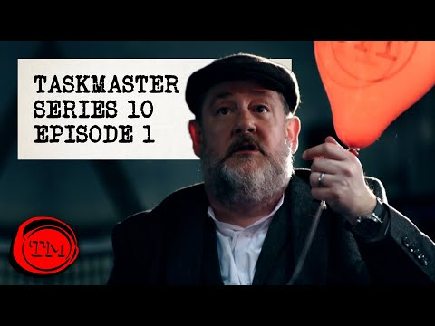 "Taskmaster - Series 10, Episode 1 | Full Episode | ""God's haemorrhoid"""