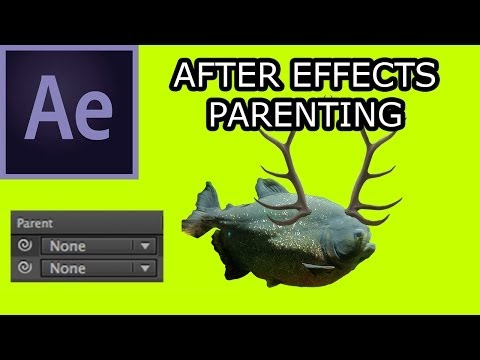 AE002 How to Use Parenting in After Effects