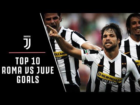 AMAZING GOALS!   ROMA VS JUVENTUS TOP 10