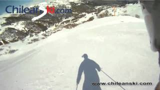 Cóndor 2 ski trail video, Termas de Chillán Chile