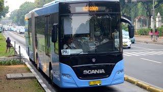 Video Jakarta City Bus - TransJakarta BRT Scania K340iA TJ187 MP3, 3GP, MP4, WEBM, AVI, FLV Mei 2019