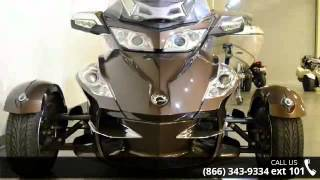 9. 2012 Can-Am Spyder Roadster RT-Limited  - RideNow Powersp...