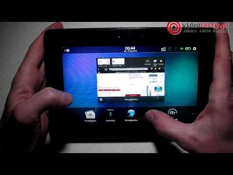 BlackBerry Playbook – videotesty.pl [RECENZJA]