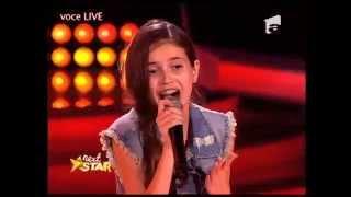 "Ana Neaţu - Pixie Lott - ""Cry me out"" - Next Star"