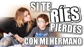 Video Si te ries PIERDES con mi hermano (DE 9 AÑOS) xd | Marina Yers MP3, 3GP, MP4, WEBM, AVI, FLV Februari 2018