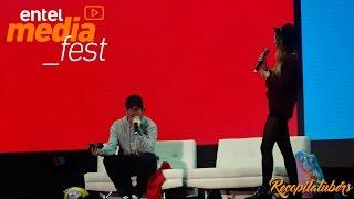 Un grandioso show de Luzu y Lana en el Entel media fest Perú, esta genial y divertida pareja haciendo reir a todos haciendo sus preguntas  y atrapando pokemons!. Si te gusto el vídeo y te divirtió te agradecería mucho dejar tu Pulgar Arriba!!.Mi facebook: https://www.facebook.com/recopilatubersFuente del vídeo: https://www.facebook.com/Studio92Radio