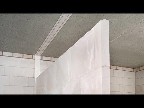Schallschutz mit Gips-Wandbauplatten