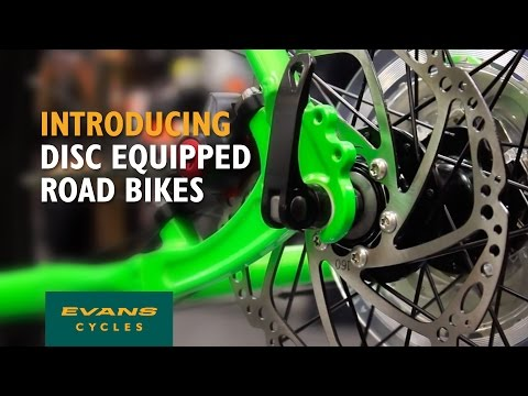 Video: Disc brake road bikes