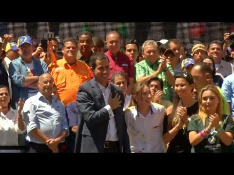 Venezuela: Der Machtkampf geht weiter - Hilfsgüter  ...